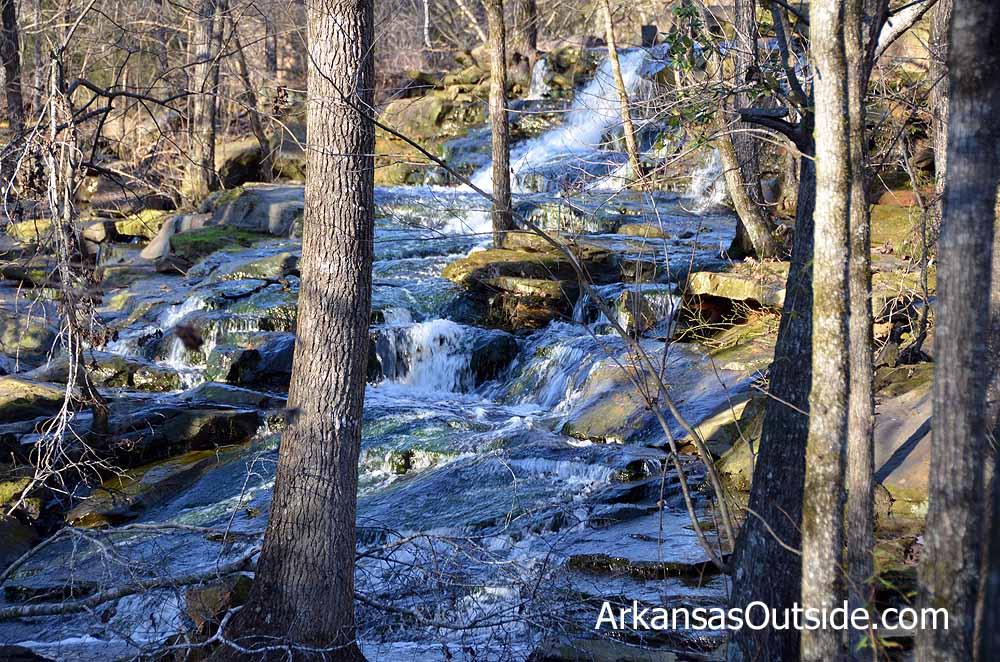 Spillway Waterfall
