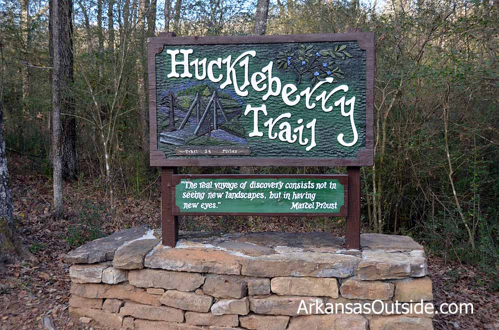 Huckleberry Trail Sign