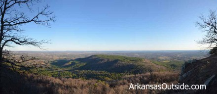 Panoramic from the Rim Trail.
