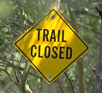 Central Arkansas Trail Closures