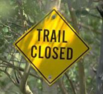 Central Arkansas Trail Closures