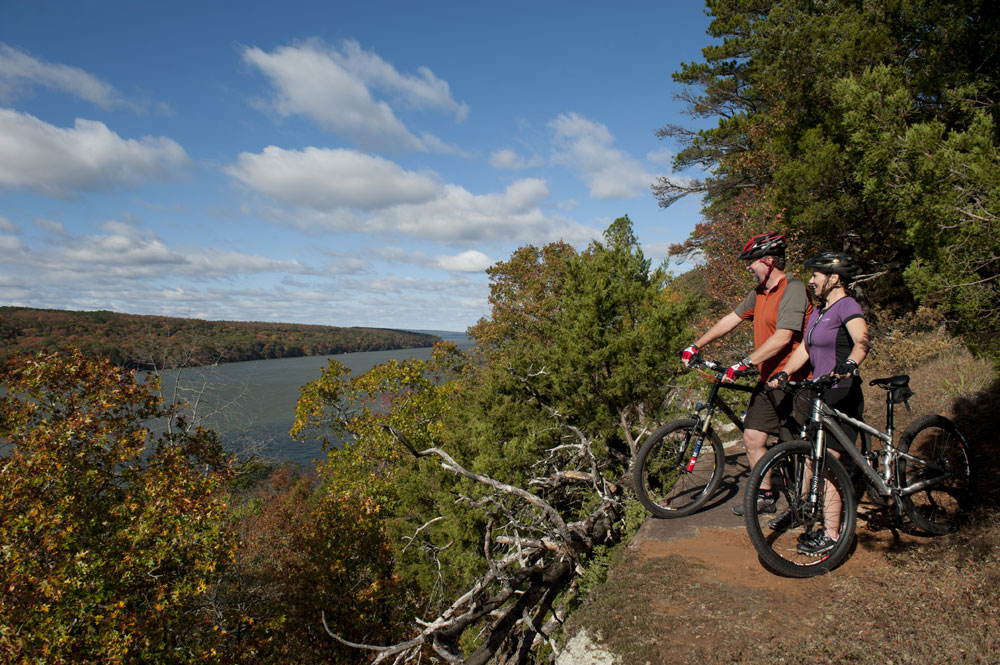 Photo courtesy of Arkansas Department of Parks and Tourism - Old Post Park, Russellville, AR