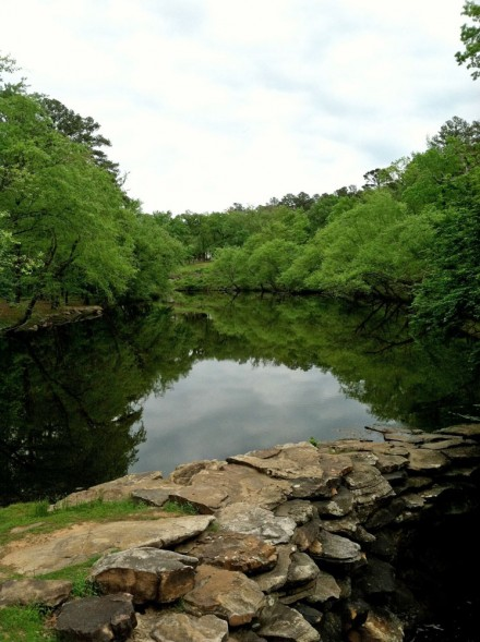 Lake Roosevelt at Petit Jean.