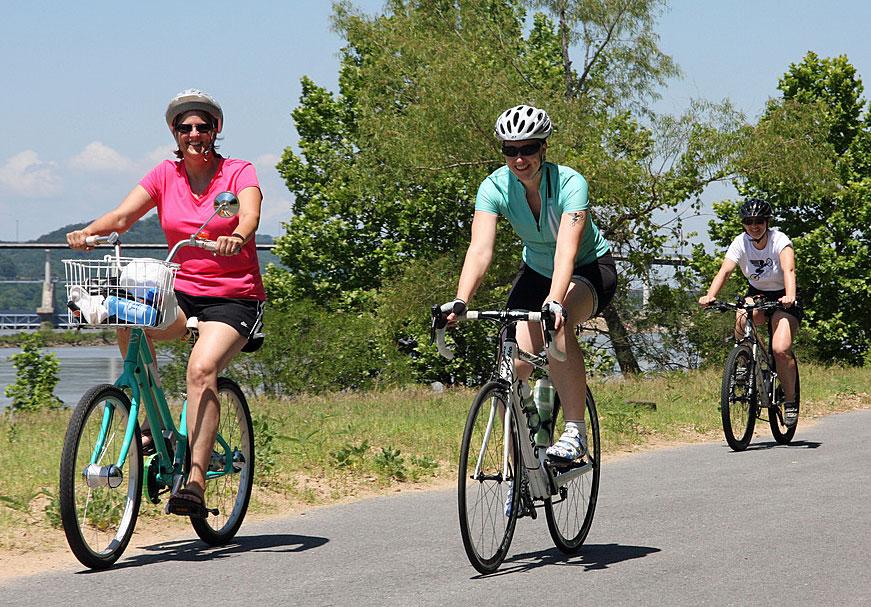 Comfort bikes, Road bikes, Mountain bikes...