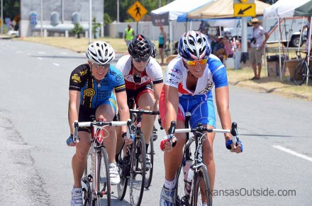 Tough women, two of them came back to race in another cat.
