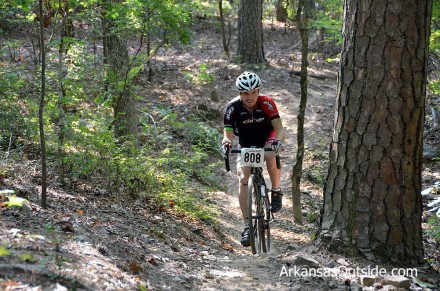 Keegan used the opportunity to start training for cyclocross season.