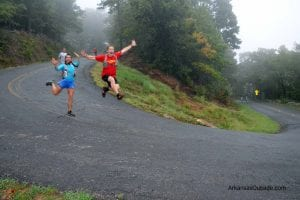 Down and Up We Go – Mt. Nebo Trail Run
