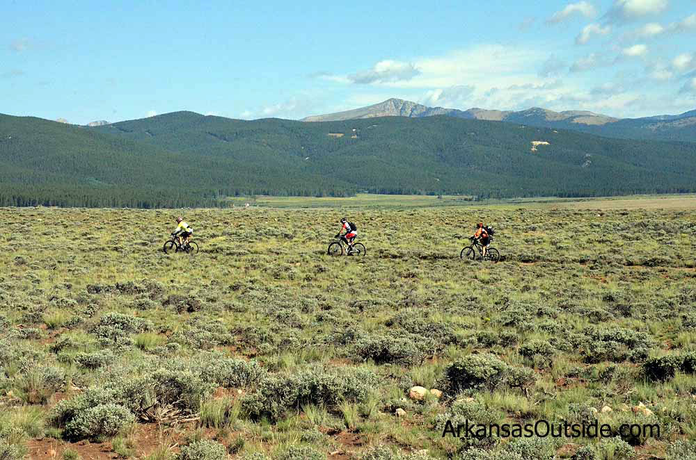 Just before the Pipeline Aid Station riders drop off the road onto a bit of singletrack.
