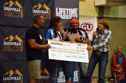 IMBA Receives a check for $20,609. (Photo from August 10th)