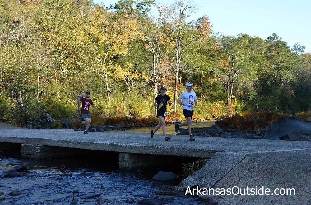 The Cossatot River Skullcrusher Trail Half Marathon