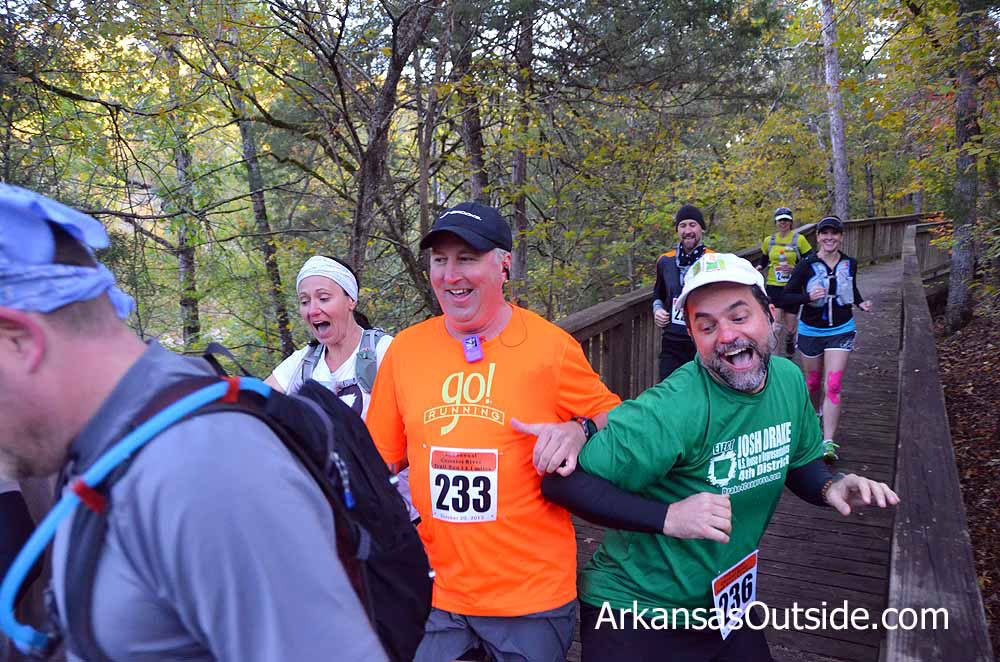 Flashback to the 2012 run and good friends