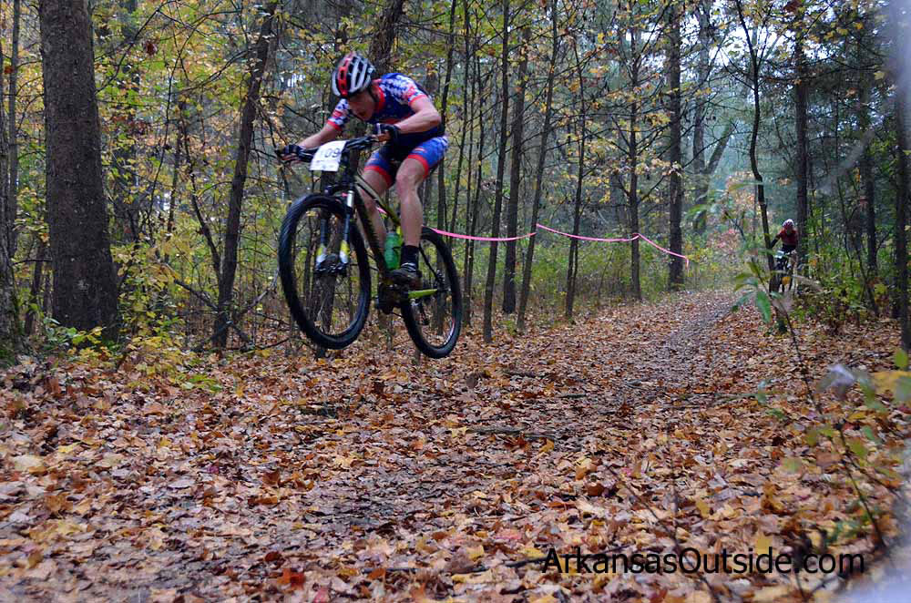 Mountain bikers sometimes find a different line.