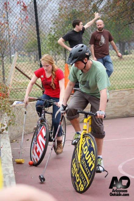 Men, Women, Guys, Girls...all are on a level playing field in Bike Polo.