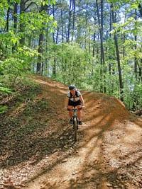 Burns Park Trails in North Little Rock.