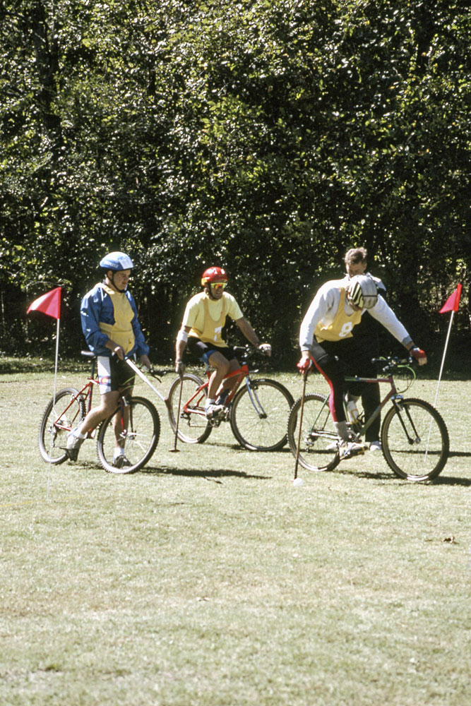 Bike polo has also been around in Arkansas for a long time.