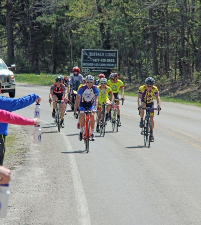 CAT3-4 leaders and masters coming up to the Mt. Sherman (photo by Mandy McCorkindale)
