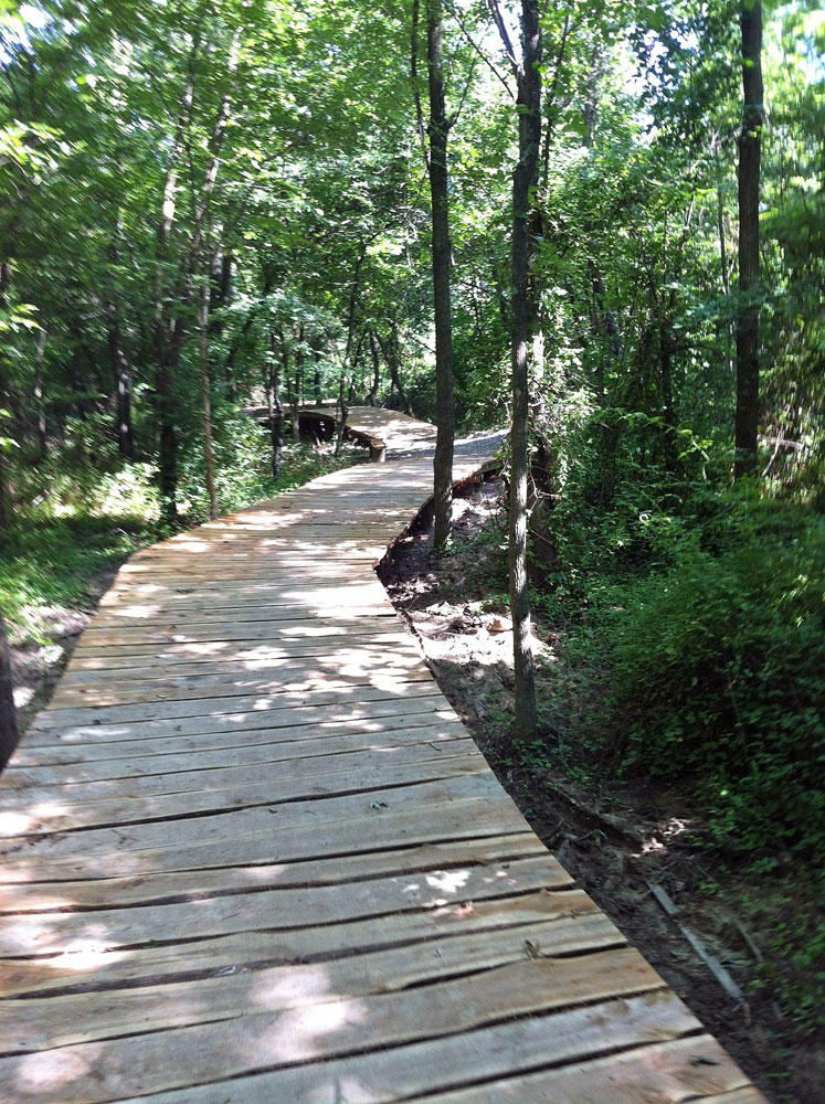 New Bridges at Lake Fayetteville Trails.