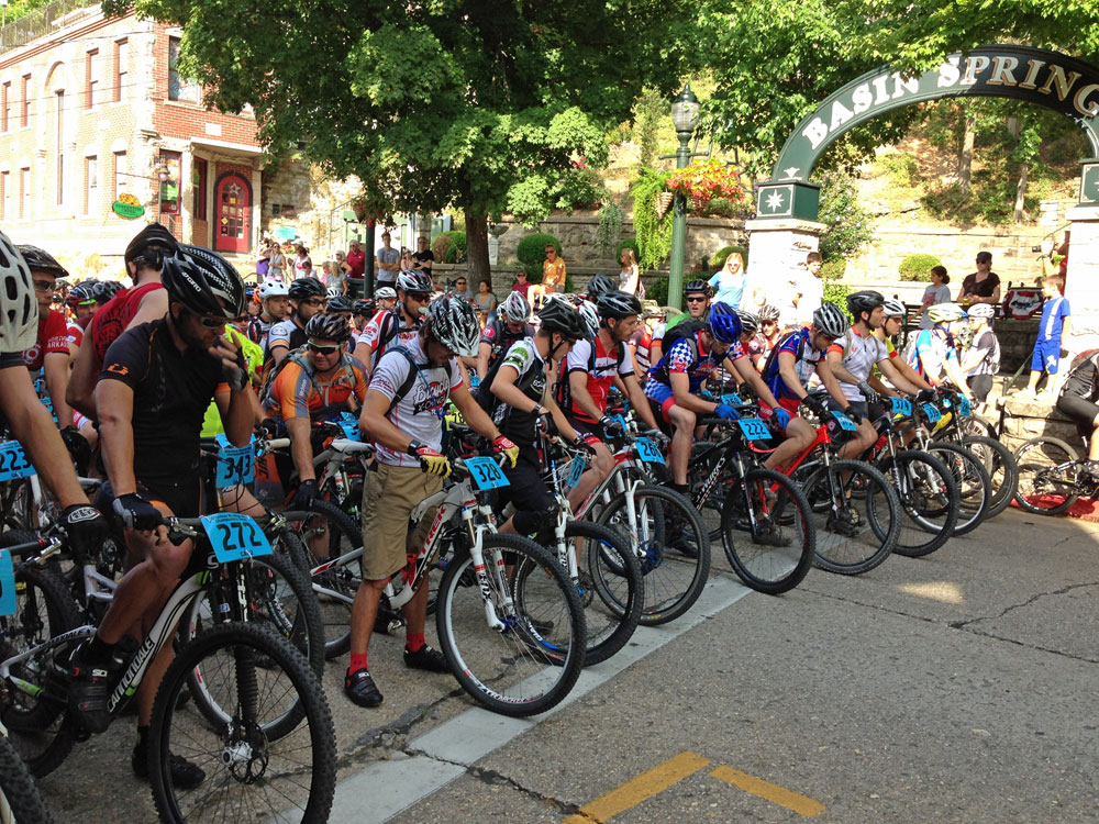 Eureka Springs Fat Tire Festival, another great event that OORC supports.