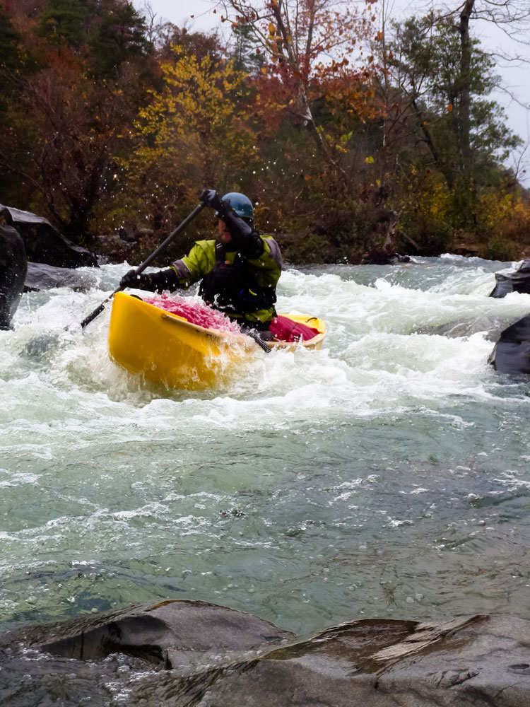 Bryan Signorelli in the open boat.