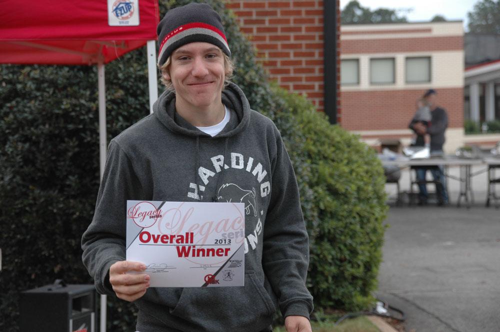 Samuel Elander, Men's Legacy Cup Winner.