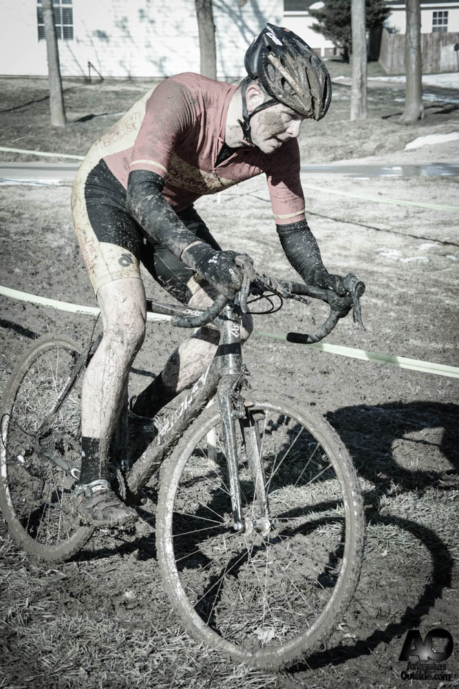Some riders got a little deeper in the ditches.