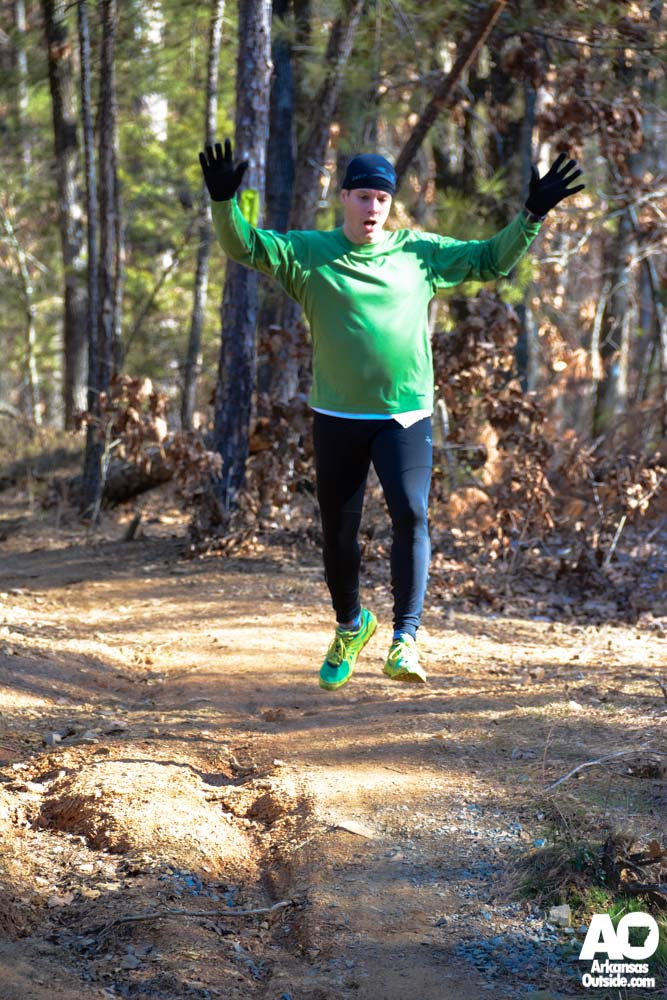 Trail runs give you wings.