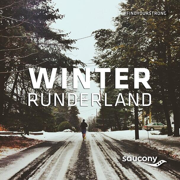 Running in a Winter Runderland