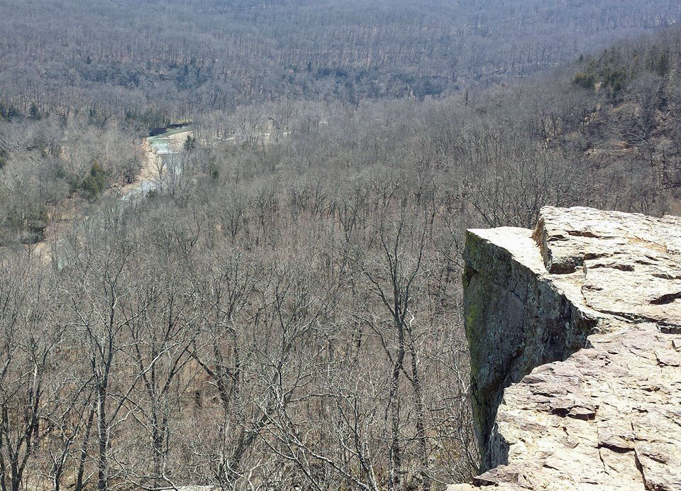 The view from Yellow Rock.