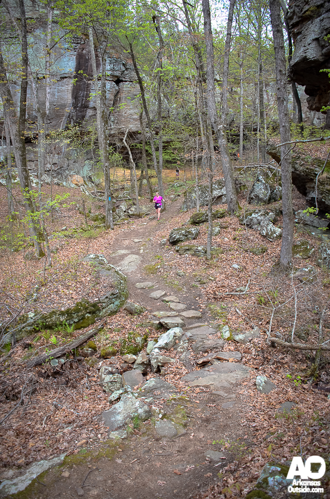 The Seven Hollows Trail is a beautiful run/hike in the Spring.