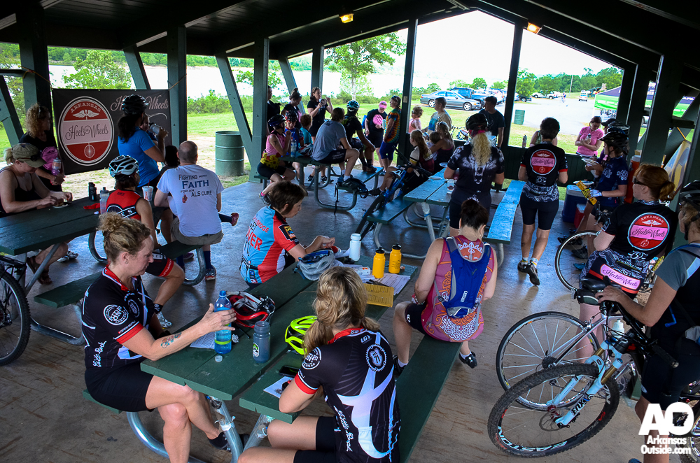 Post ride rest, bonding and energizing.
