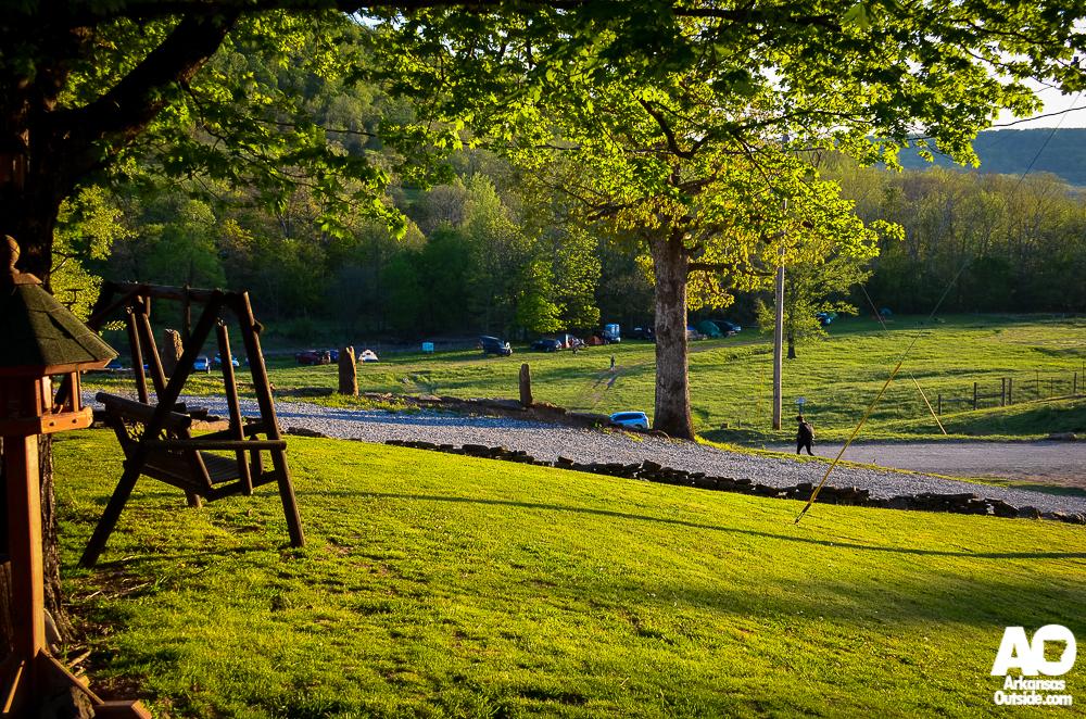 Mornings at the ranch.