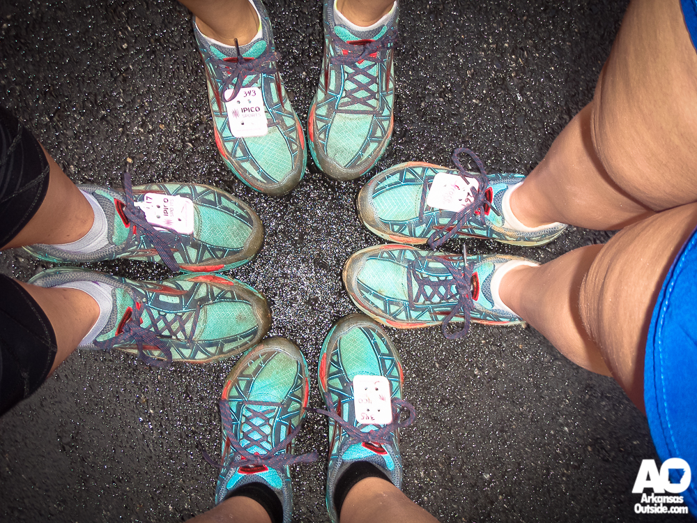 We noticed that several of us had similar taste in trail running shoes.