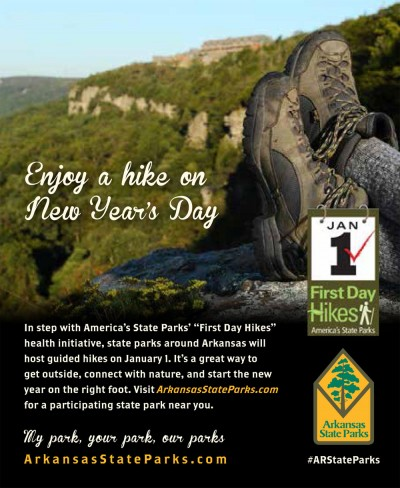 Arkansas State Parks - First Day Hikes @ Arkansas State Parks