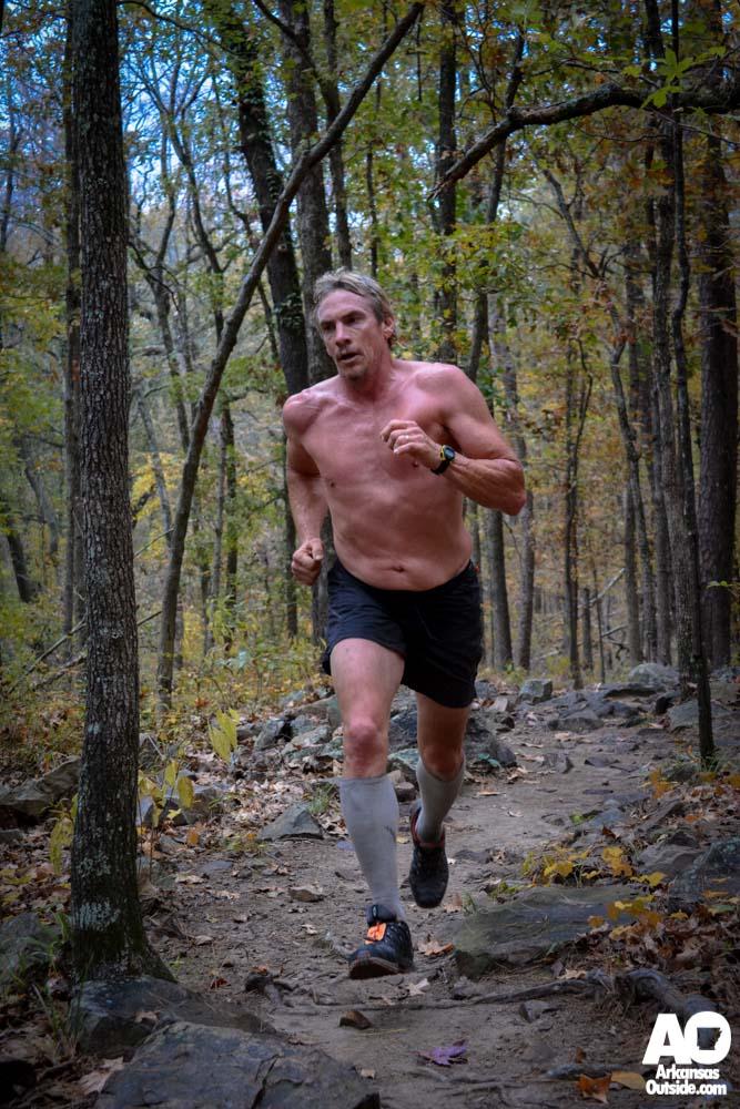 Tarzan on the Race the Base Trail Run.