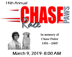 Chase Race and Paws 2M/1M @ Simon Park | Conway | Arkansas | United States