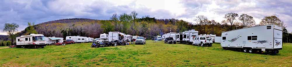 Camping at Byrd's
