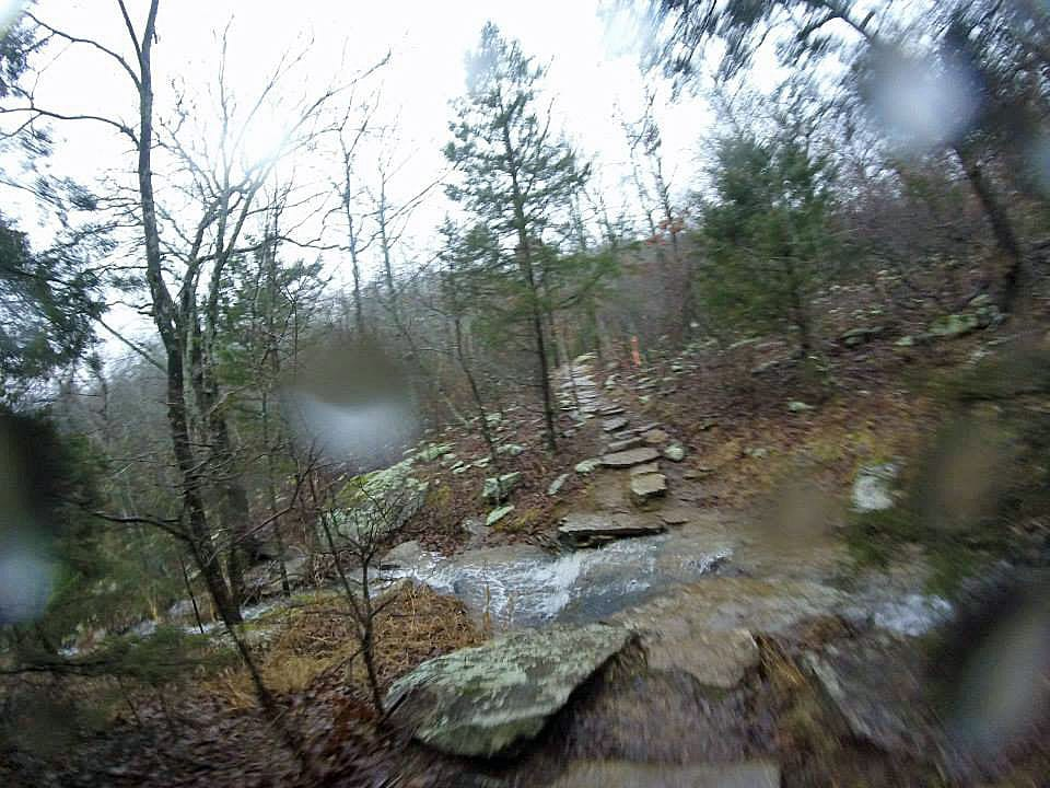 One creek/trail crossing