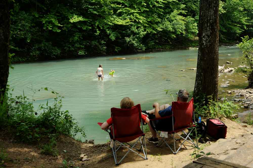 Or just take a dip in the river. (photo courtesy of Arkansas Department of Parks & Tourism)