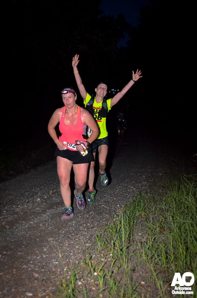 Luckily, I always bring a personal cheerleader with me on the long runs.