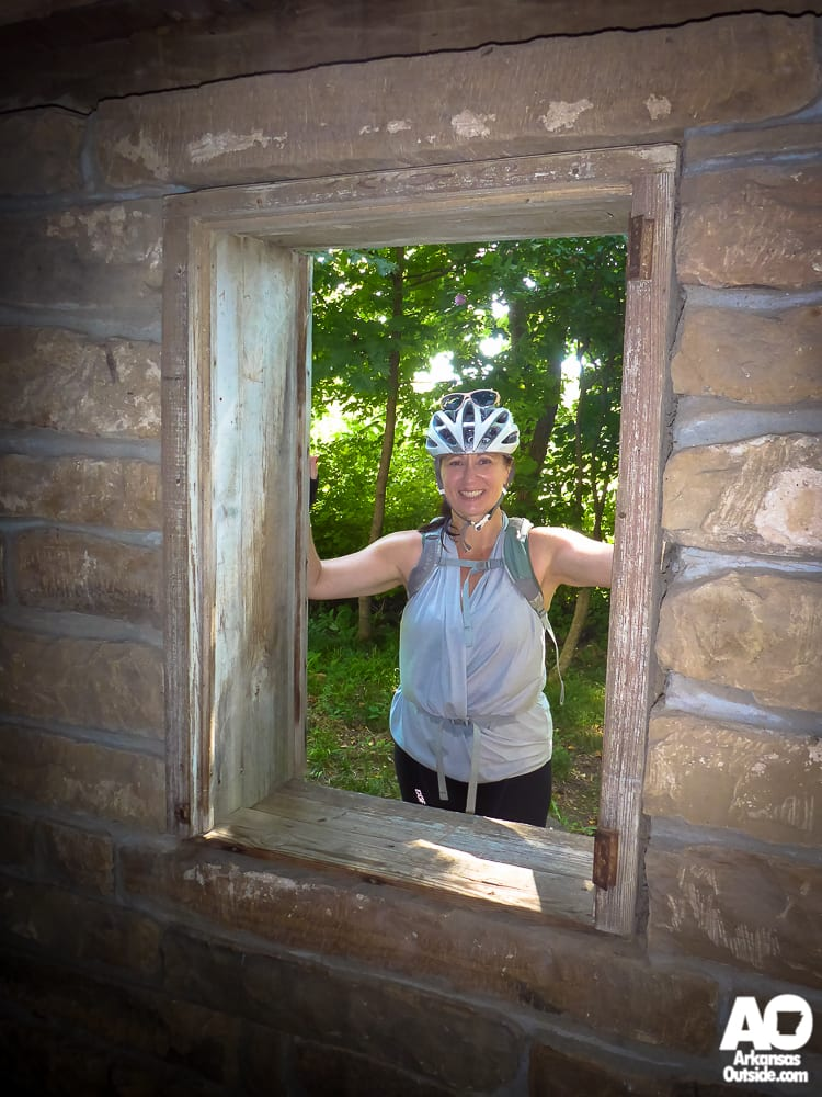 Framed at the well house.