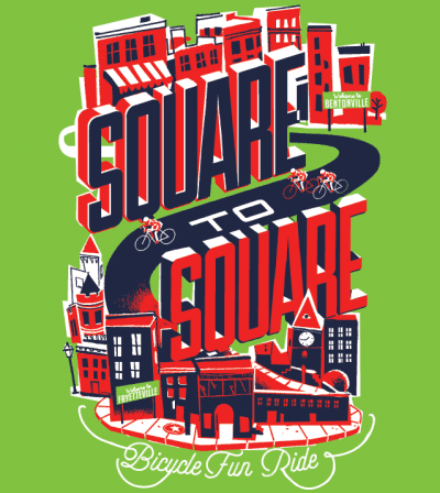 Square to Square Bicycle Ride @ Bentonville Square | Fayetteville | Arkansas | United States