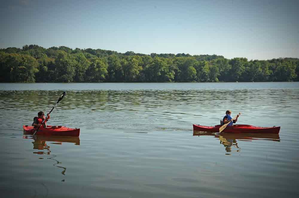 Lake Fayetteville in Fayetteville.