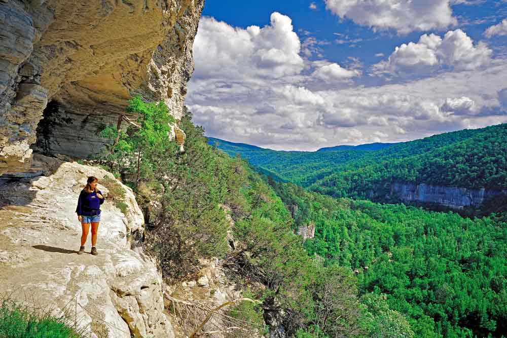 Goat Trail, Buffalo Wilderness. (photo by ADPT)