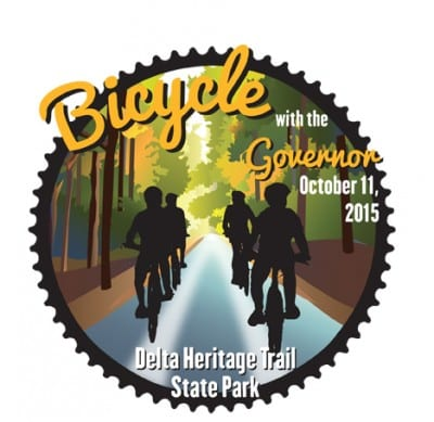 Bicycle with the Governor @ Delta Heritage Trail State Park | Arkansas | United States