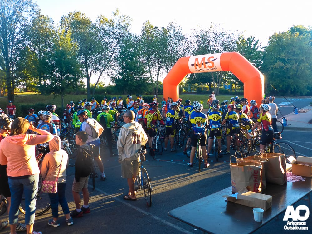 Hundreds of Cyclists Will Ride from North Little Rock to Hot Springs Village to Raise Money to Support People Affected by Multiple Sclerosis