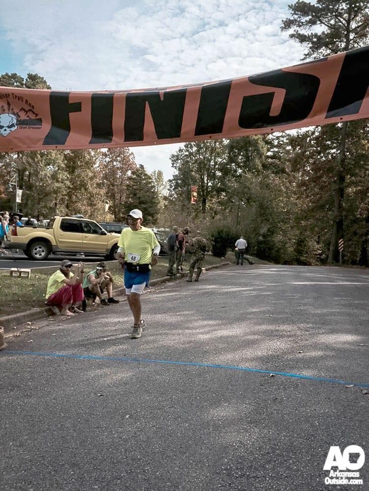 Jay at the Finish