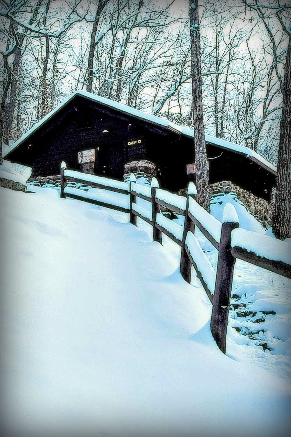 Devil's Den State Park Snow 6 Arkansas Winter Destinations