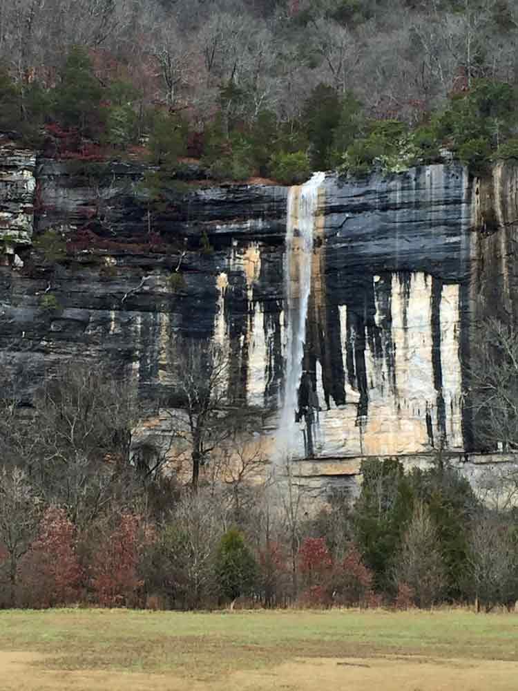 Waterfall at Steel Creek in the upper Buffalo.