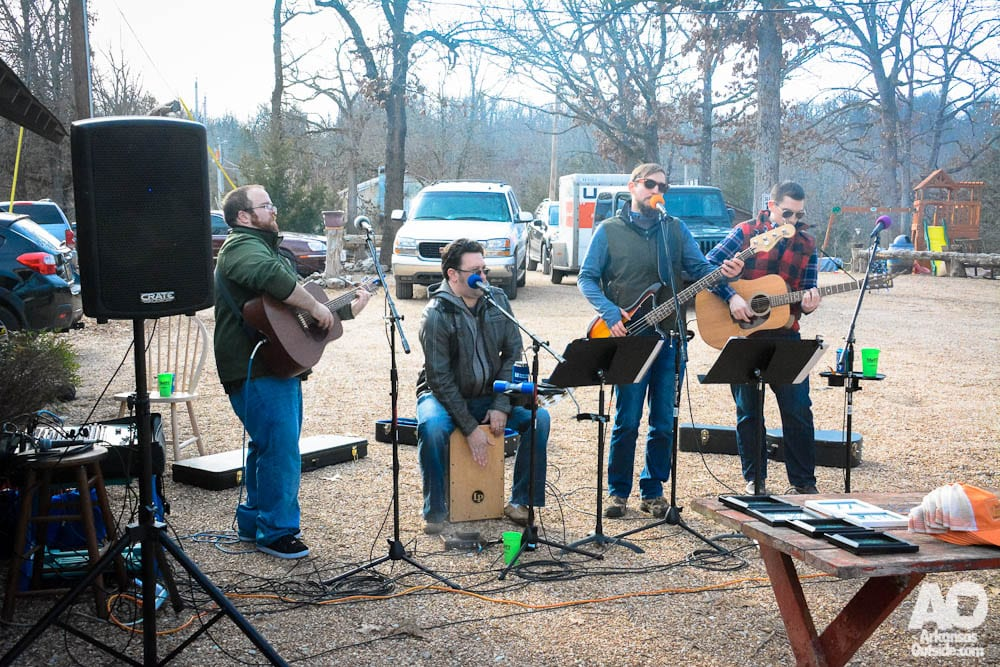 The Mellow Mountain Band was one of the two bands who entertained us at the after-party.