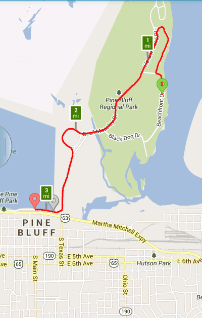 Jefferson County 5K RunWalkDance @ Pine Bluff Regional Park | Pine Bluff | Arkansas | United States